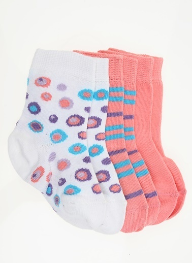 Soobe 3'lü Çorap Renkli